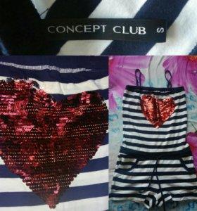 Одежда из concept club