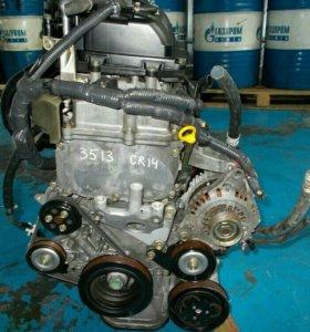 Контрактный двигатель nissan march cr14de