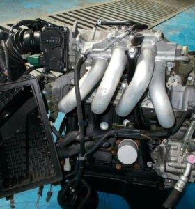 Контрактный двигатель nissan primera qg18de