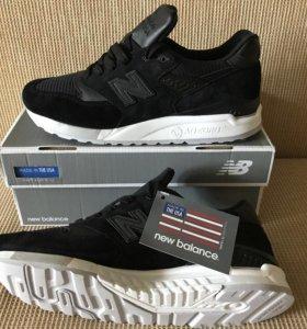 Новые кроссовки New Balance 998 NJ made in USA