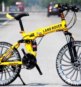 Горный велосипед на литых дисках СКЛАДНОЙ