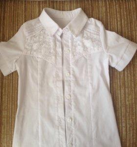 Блузка школьная 122-128