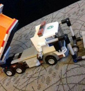 Лего мусоровоз