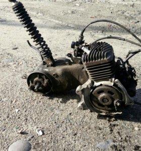 Двигатель Honda Takt, 50кубов