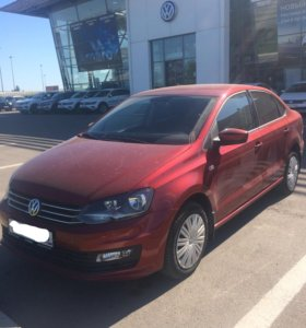 Volkswagen polo 1.6 AT (110 л.с)
