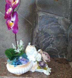 Орхидеи искуственные