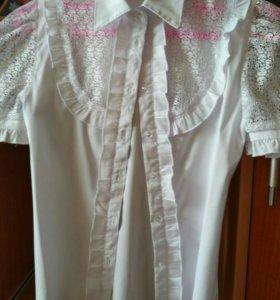 Продам блузки школьные!