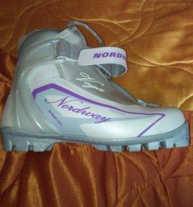 Лыжные ботинки vega 38