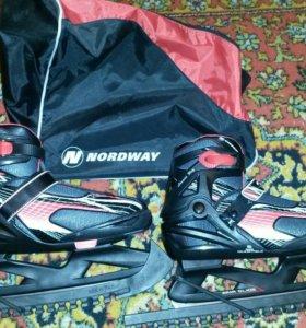 Коньки Nordway