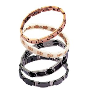 Магнитные титановые браслеты