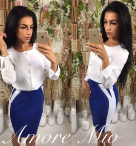 Костюм блузка 👚 +юбка