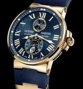 Часы Ulyss Nardin механика и кварц