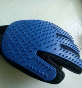 Перчатка для расчесывания шерсти