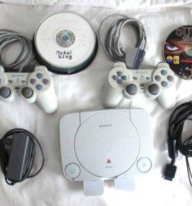 2 Sony Playstation One dsch-100, прошитая