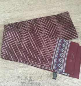 Шелковый шарф мужской