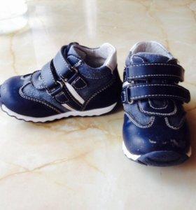 Barkito ботинки кожаные 21 размер 13 см