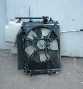 Радиаторы на TOYOTA PASSO