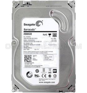HDD 3.5 Seagate 2000GB.