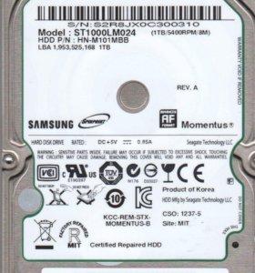 HDD 2.5 Samsung 1000GB