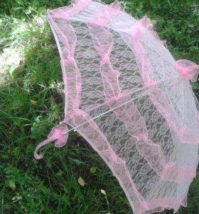Свадебный зонт.