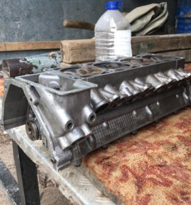Головка гбц в сборе на 405 двигатель