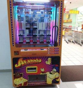"""Торговый автомат,развлекательный аппарат """"Аладдин"""""""