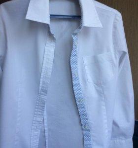 Рубашка школьная для девочки, торг уместен