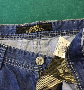 Брендовые джинсы Hermes