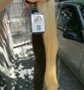 Волосы для наращивания 65 см