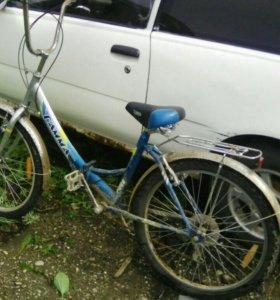 Расклодной велосипед