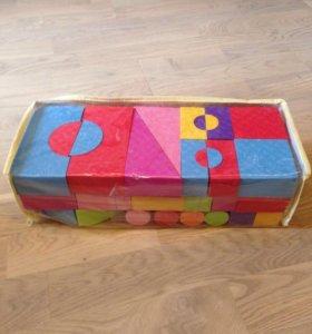 Строительные кубики, новые