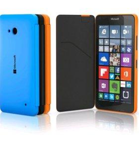 Чехол на Microsoft Lumia 640 чёрный