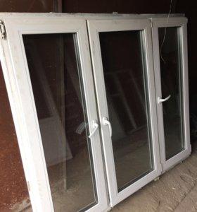Пластиковое окно,балконная дверь