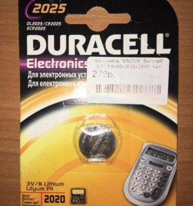 Новая батарейка