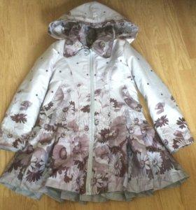 Куртка плащ для девочки