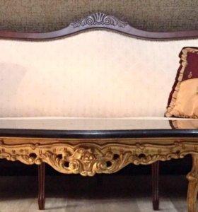 Диван итальянской мебельной фабрике