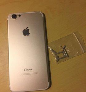 Корпус для iPhone 6 в стиле 7 Gold