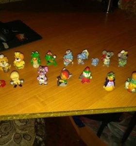 Старые игрушки киндер