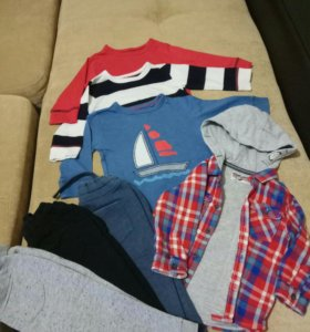 Пакет вещей NEXT на мальчика 1-1,5 года