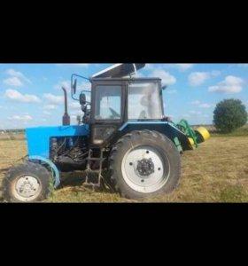 Услуги роторной косарки покос травы