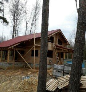 Отделка деревянных домов