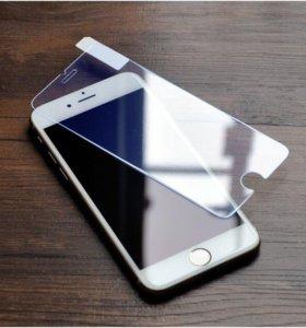 Защитное стекло на iPhone 6/6plus