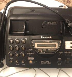 Телефон-Факс Panasonic KX-FT26