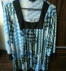 Новая блузка р.60-62