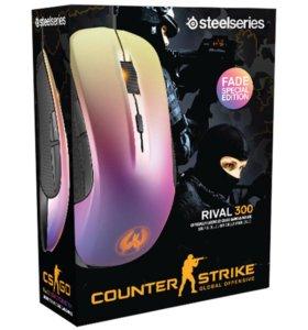 SteelSeries Rival 300 CS GO Fade