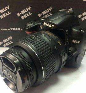 Nikon D5000 18-55kit
