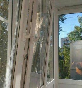 Окна пвх .лоджии , балконы . изготовление , монтаж