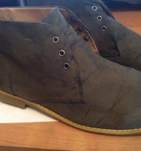 Ботинки мужские. Осень