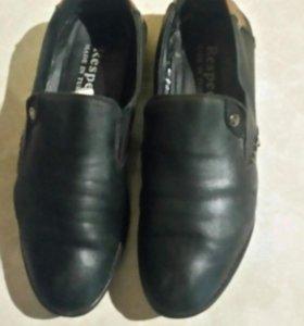 Обувь кожаная мужская р39-40