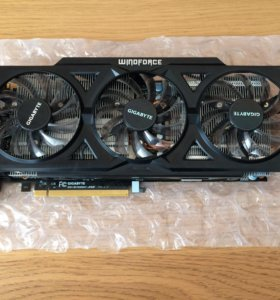 Видеокарта Gigabyte GeForce GTX 760 2GB OC